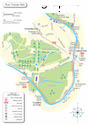 River Thames walk map